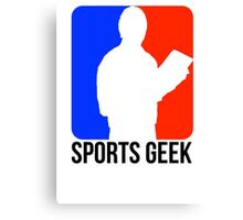 Sports Geek Logo - Jerry West style Canvas Print