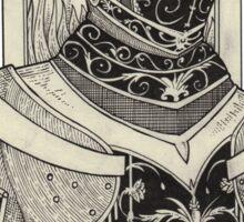 Chevalier. Sticker