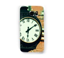 Tick Tock Goes the Clock Samsung Galaxy Case/Skin