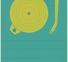Vintage Vinyl  by modernistdesign