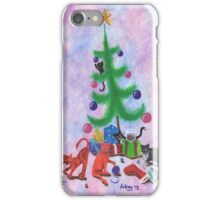 A Kitty Christmas iPhone Case/Skin