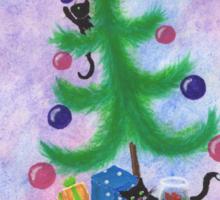 A Kitty Christmas Sticker