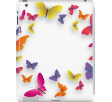 butterfly colour iPad Case/Skin