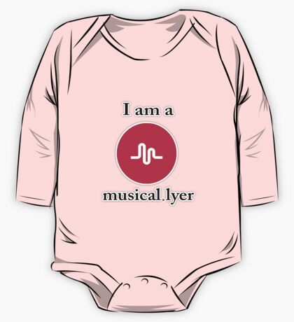 MUSICAL.LY One Piece - Long Sleeve