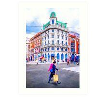 O'connell Street Splendor Art Print