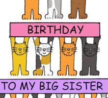 Happy Birthday to my big sister. Sticker