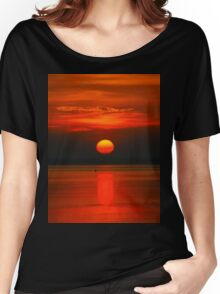 Sunrise Over Shinnecock Bay Women's Relaxed Fit T-Shirt