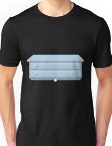 Glitch bag furniture smallcabinet powdered blue small cabinet Unisex T-Shirt