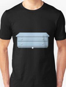 Glitch bag furniture smallcabinet powdered blue small cabinet T-Shirt