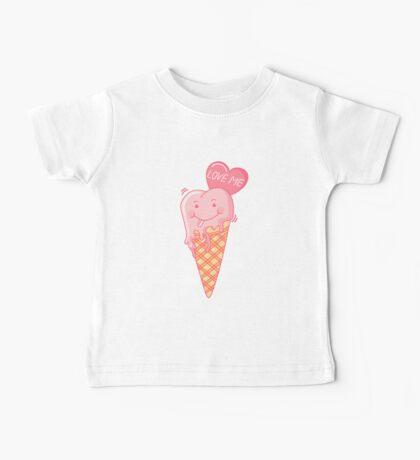 Love ice cream. Baby Tee