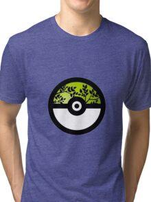 I Choose Grass Type Tri-blend T-Shirt