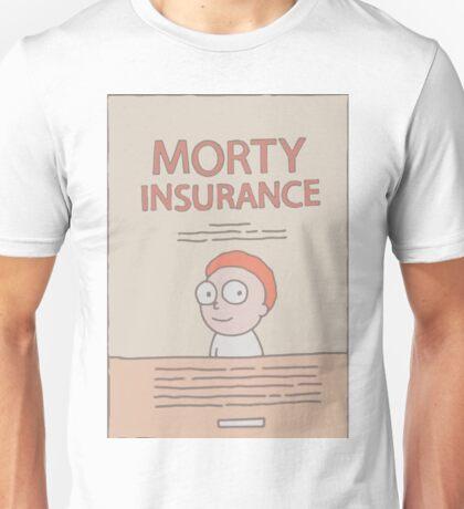 Morty Insurance Unisex T-Shirt