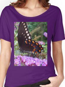Spice Bush Swallowtail Butterfly Women's Relaxed Fit T-Shirt