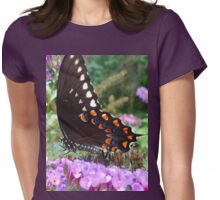 Spice Bush Swallowtail Butterfly Womens Fitted T-Shirt