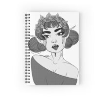 Dark Elf  Spiral Notebook