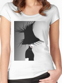 lady d 4 Women's Fitted Scoop T-Shirt