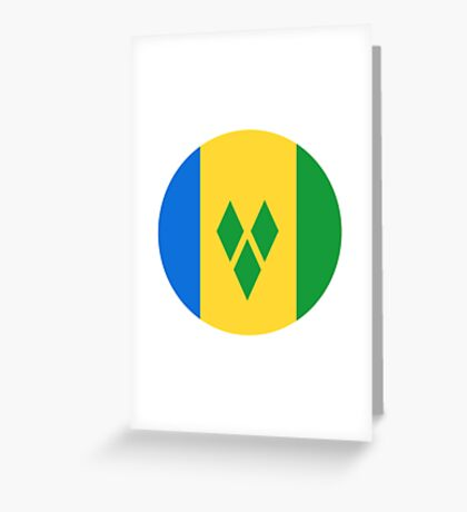 Saint Vincent and the Grenadines Greeting Card