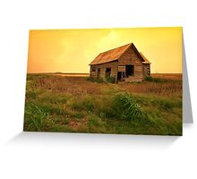 Prairie Home Greeting Card