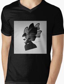 lady d Mens V-Neck T-Shirt
