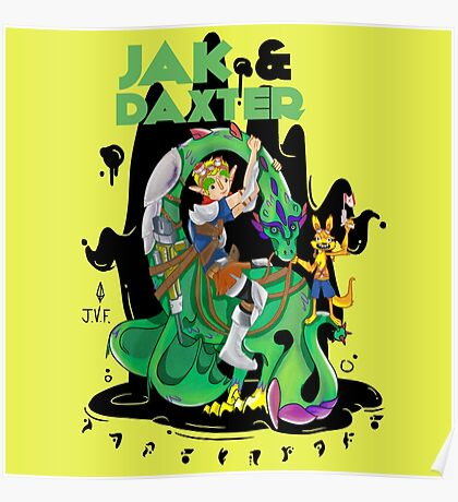 Jak & Daxter Poster