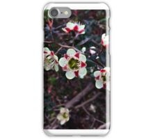 native flowering iPhone Case/Skin