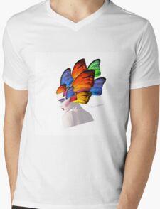 lady d 6 Mens V-Neck T-Shirt