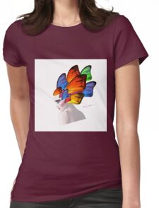 lady d 6 Womens Fitted T-Shirt