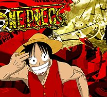 Luffy Borderlands by mceachern1997