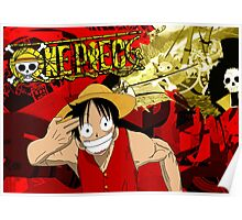 Luffy Borderlands Poster