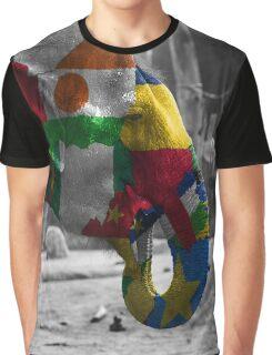 Elephant, africa flag Graphic T-Shirt