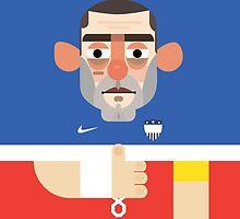 Clint Dempsey - USA by Gary Ralphs