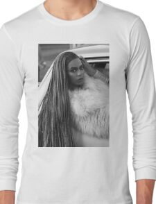 Ok ladies now let's get in formation!  Long Sleeve T-Shirt