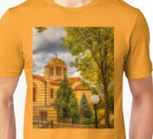 Autumn at Holy Cross Greek  Unisex T-Shirt