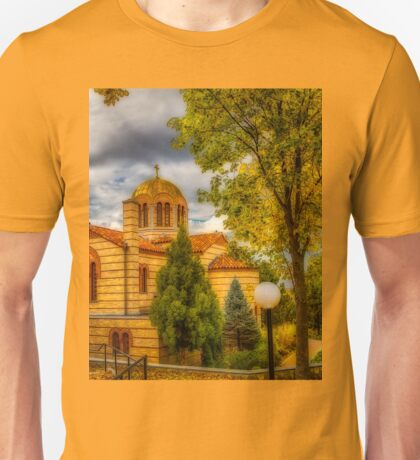Autumn at Holy Cross Greek  Unisex T-Shirt