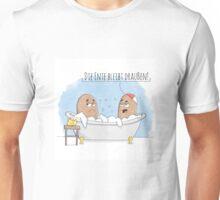 Loriot Badewannen Sketch Hommage  Unisex T-Shirt