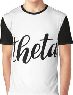 theta Graphic T-Shirt
