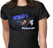 WHO's the Perfect 10? Womens Fitted T-Shirt