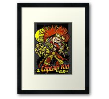 Captain Red Head Framed Print