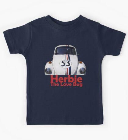 Herbie the love bug Kids Tee