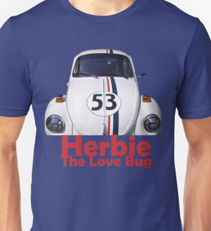 Herbie the love bug Unisex T-Shirt