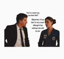Booth and Brennan - Smart Ass by Qemma