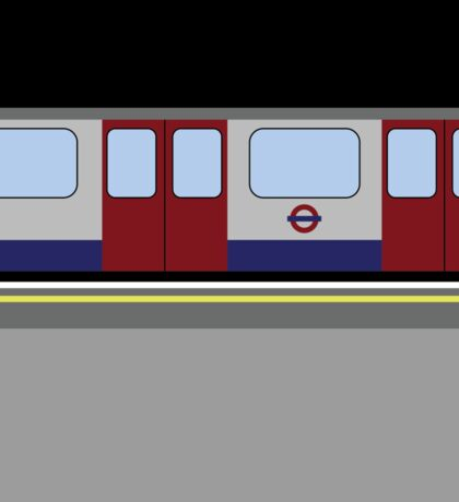 London Tube Train Sticker