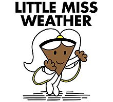 Little Miss Weather Photographic Print