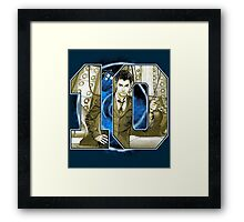 Number 10 Framed Print