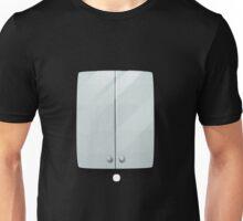 Glitch bag furniture wallcabinet simply white wall cabinet Unisex T-Shirt