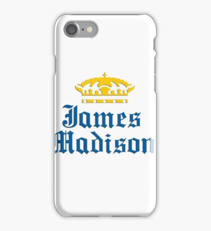 James Madison University Sticker iPhone Case/Skin
