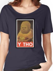 Y THO - MEME (OBEY) Women's Relaxed Fit T-Shirt