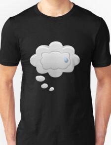 Glitch bag furniture wallcabinet thought bubble wall cabinet T-Shirt