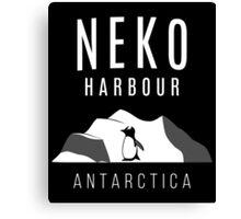 Neko Harbour, Antarctica - Penguin Paradise Canvas Print