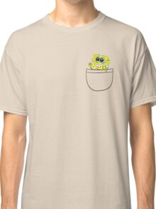 Pocket spongebob Classic T-Shirt